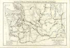 Map Washington State by Washington Highways Map Circa 1915 Black Diamond Now