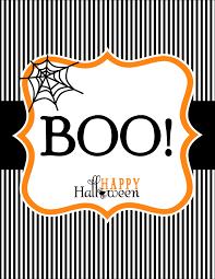 Boo Halloween Poem Get