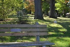 memorial bench program