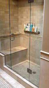design of the doorless walk in shower bath showers and master