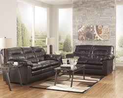 Brown Leather Loveseat Durablend Knox Coffee Leather Loveseat By Ashley Furniture La