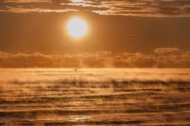 sea smoke over the atlantic today u0027s image earthsky