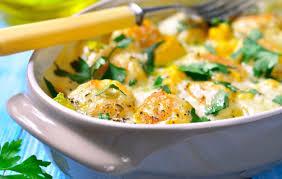 cuisiner les potimarrons simple et bon gratin butternut potimarron et petits lardons