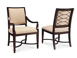 contemporary upholstered dining room chairs with arms traditional