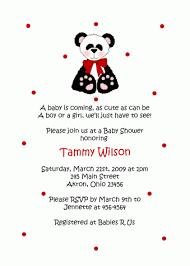 Panda Baby Shower Invitations - panda bear baby shower invitation birthday party ideas for bug