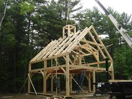 Small Post And Beam Homes Maine Timber Frame U0026 Post And Beam Home Construction