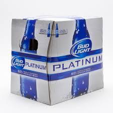 12 bud light price bud light platinum 12oz bottle 12 pack beer wine and liquor