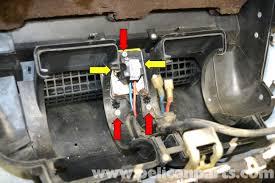 mercedes benz w124 hvac resistor replacement 1986 1995 e class