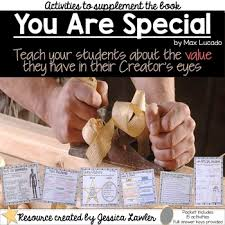 you are special by max lucado book activities tpt