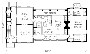 house plans with portico house in three parts william h phillips southern living house
