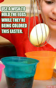 coloring easter eggs made easy easter spring pinterest