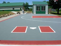 Backyard Basketball Online by Outdoor Basketball Court Tile For Backyard Courts