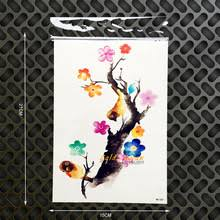 tattoo home decor buy home wall tattoo flower and get free shipping on aliexpress com