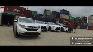 lexus nx200t price in cambodia 2017 all new honda cr v u0026 lexus rx350 f sport cambodia youtube