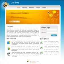 beez design template free website templates in css html js