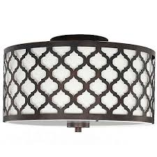 flush mount ceiling light fixtures oil rubbed bronze hton bay edgemoor 2 light flush mount ceiling light 13 25 inch