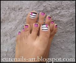 pedicure nail art maroc cutenails art 4 summer pedicures easy