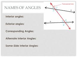 Same Side Interior Angles Definition Geometry Chapter 3 Parallel Lines And Planes 3 1 Definitions Pib Geometry