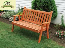 Western Red Cedar Outdoor Furniture by Buy The A U0026 L Red Cedar Traditional English Garden Bench Online