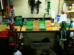 Setting Up A Reloading Bench Locked And Reloading Stuff From Hsoi