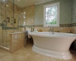 Travertine Bathtub Travertine Border Tile Houzz