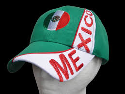 mexico mexican flag sports soccer baseball cap hat caps caps