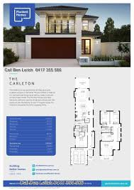 narrow block 2 storey house design house designs