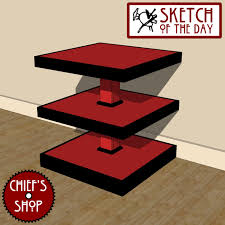 Free End Table Plans Woodworking by End Table Chief U0027s Shop