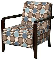 Blue Accent Chairs For Living Room Luxurious Accent Chair Facil Furniture Blue With Arms