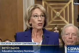 does betsy devos mean the end of public education in america