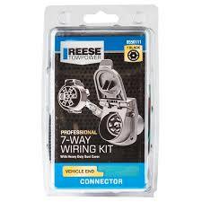 7 way blade professional series plug in wiring kit 8550111 reese