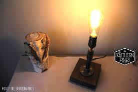 Steampunk Desk Lamp Steampunk Table Lamp Industrial Lighting Rustic Lighting