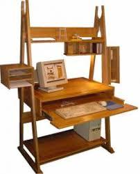 bureau informatique en bois chevalet informatique en bois bureau ordinateur