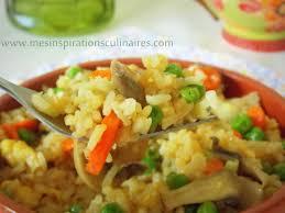 cuisiner asiatique riz façon asiatique facile recette vegetarienne le