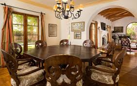 Emejing Spanish Dining Room Furniture Pictures Home Design Ideas - Colonial dining rooms