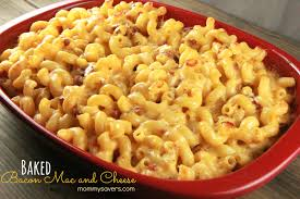 baked macaroni and cheese with bacon mommysavers