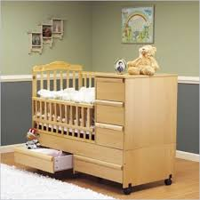 Cribs With Attached Changing Table by Mini Crib With Changing Table Shelby Knox