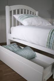 Single Bed With Storage Underneath Limelight Despina 3ft Single White Wooden Bed Frame With Under Bed