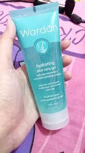 Wardah Gel review pelembab wardah hydrating aloe vera gel corner