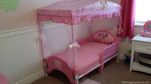 Princess Canopy Bed A Princess Nights Sleep Disney Princess Canopy Toddler Bed Review