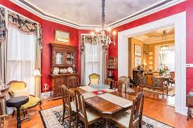 dining room colorful style and improvement radiate from this