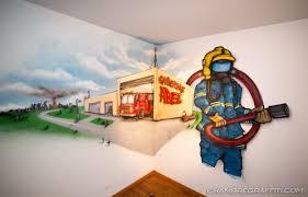 decoration chambre pompier chambre pompier abel chambre graffiti