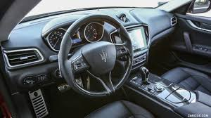 black maserati ghibli 2017 maserati ghibli sq4 sport package interior hd wallpaper 24