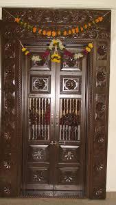 interior design mandir home wooden door designs for pooja room luxury frame wood mandir living