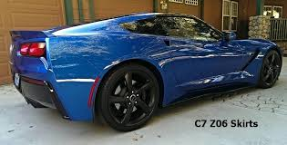 2014 2018 c7 corvette z06 style side skirts rockers rpidesigns com