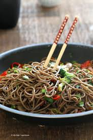 thanksgiving noodles recipe vegan lo mein with soba noodles vegan richa