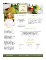 Sample Resume For A Chef by Chef Resumes Cv Samples U2014 Super Yacht Resume