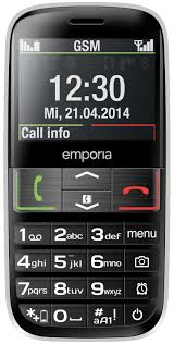 Gsm Coverage Map Usa by Emporia Euphoria Mobile Senior Cell Phone Bluetooth Genuine New Ebay