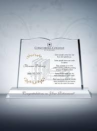 retirement plaque book retirement plaque sle poems diy awards