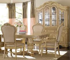 Dining Room Set Dining Room Ivory White Dining Room Set With Leather Dining